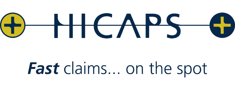 HICAPS on the spot health claims